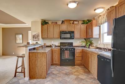 Redman Homes, Lindsay, California, Kitchens