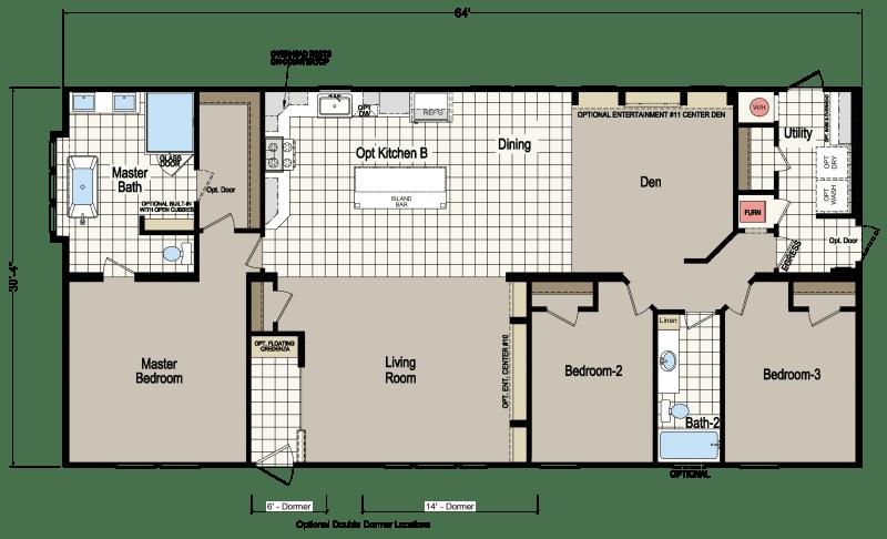 Cypress Manor 0643b Homes Of Merit Champion Homes