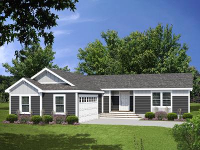 Genesis Homes Model - Model 11 Opt 2A Exterior