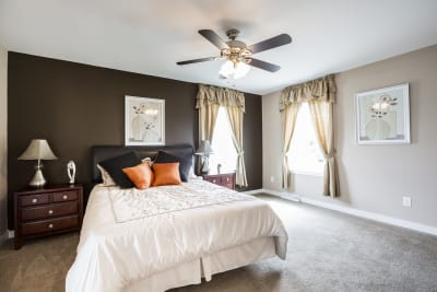 New Era Beckley master bedroom