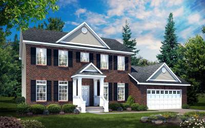 All American Homes, Kempton, 2-story home