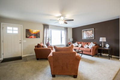New Image Freeport living room and entryway