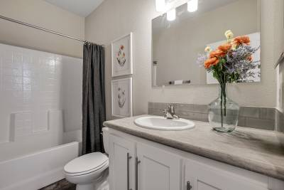 Genesis Homes - Model 11 bathroom