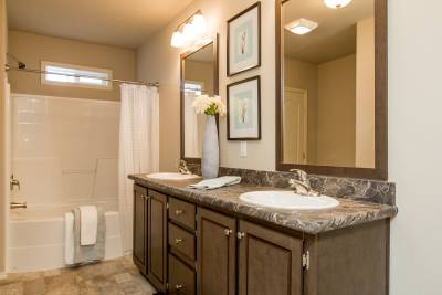 Champion Homes, Weiser, Idaho, Bathrooms