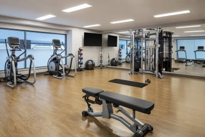 AC Hotel Louisville fitness center