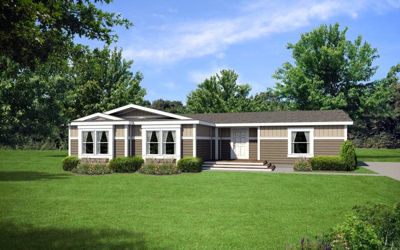 Creekside Manor 7623U Elevation