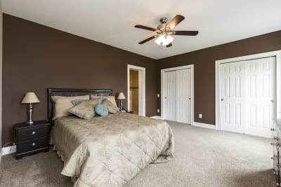 New Era Charleston master bedroom
