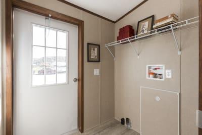 The Wentz 492B utility room