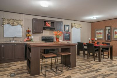 RM2852A by Redman Homes kitchen and dining room