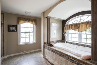 New Era Beckley master bathroom