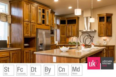 Champion Homes Weiser, Ultimate Kitchen Two, designer kitchen