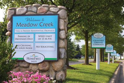 Meadow Creek entrance