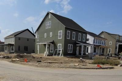 Westlawn Garden, Milwaukee WI - multi-story residences by Champion Modular Inc.