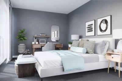 The Corner guest bedroom