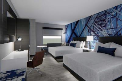 Cambria Hotel Detroit Downtown - modular hotel by Champion Modular Inc.