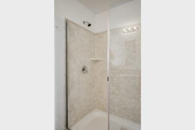 Enterprise FH64 master bathroom shower
