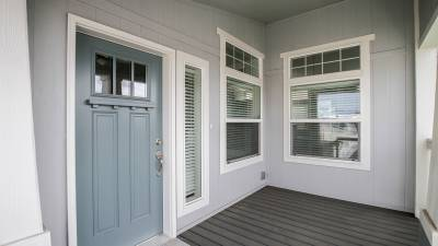 Silvercrest Craftsman, California - porch, Craftsman windows