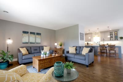 Excel Homes, The Charles, interior