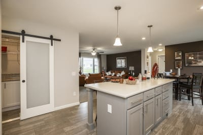 New Image Freeport kitchen island and pantry