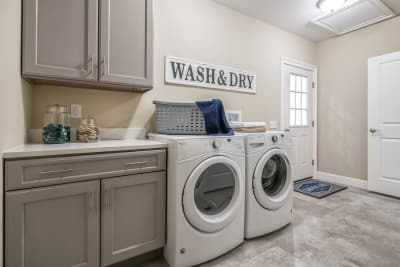 The Brookly laundry room