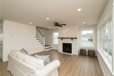Excel Homes, Boardwalk, living room