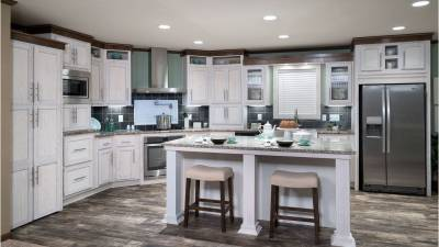 Dutch Housing, manufactured homes, designer kitchens