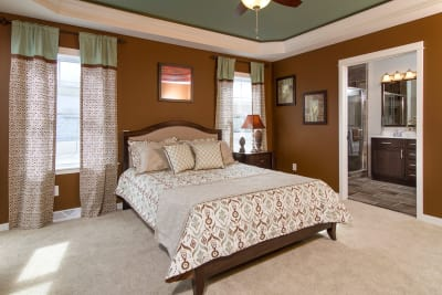 New Era Mulberry master bedroom