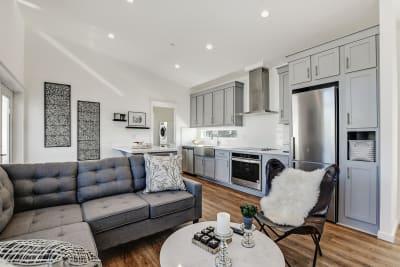 Urbaneer ADU by Genesis Homes - living room and kitchen