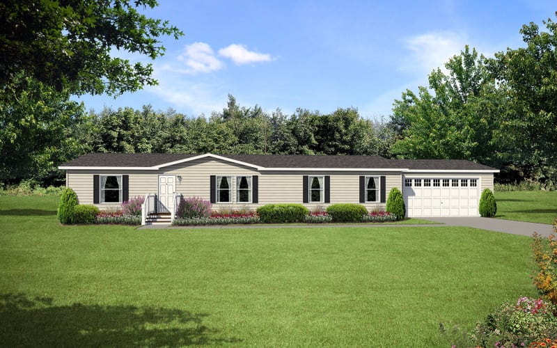 Central Great Plains 860 Manufactured Home Elevation
