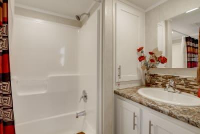 Model 552L bathroom