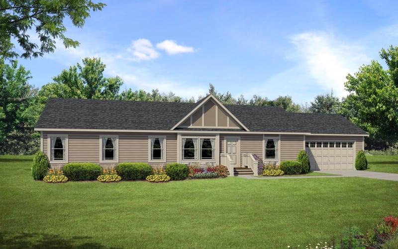 Prairie-View-3260 Modular Home Exterior