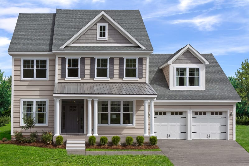 Somerton Two-Story Modular Home Elevation