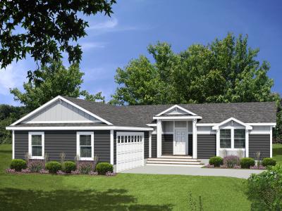 Genesis Homes - Model 11 Opt 3B Exterior