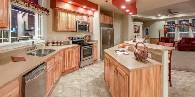 Redman Homes, York, Nebraska, Kitchens