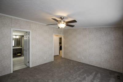 The Newton 702B master bedroom
