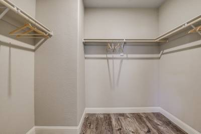 Genesis Homes - Model 11 walk-in closet
