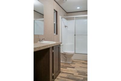 RM2852A by Redman Homes master bath