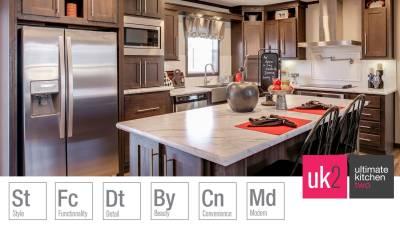 Redman Homes, Ephrata, Pennsylvania, Ultimate Kitchen Two