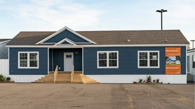 Manufactured home plans available through George Humfleet Homes, LLC