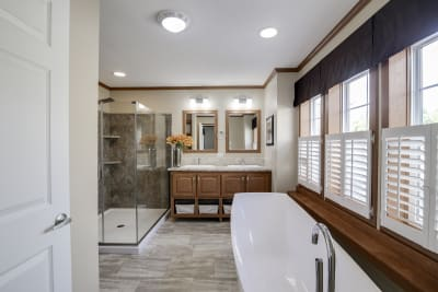 Essentials A25609 master bathroom