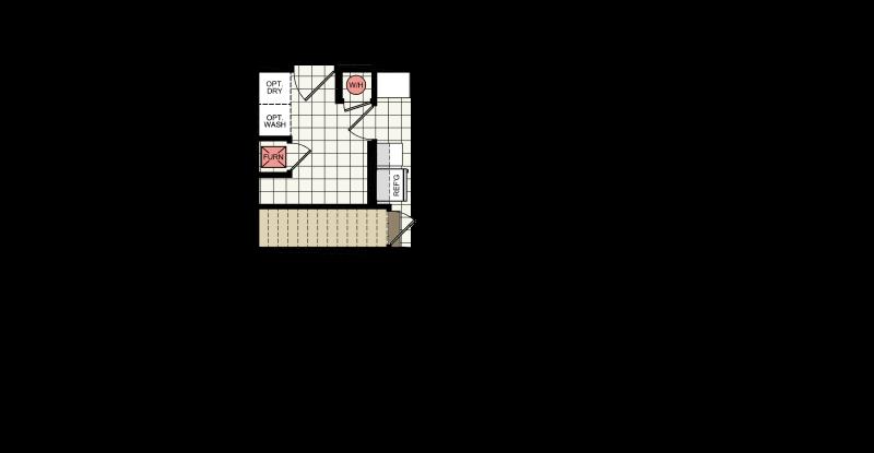 Optional Basement Stairwell