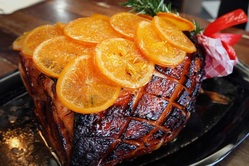 orange-glazed Christmas Hams - New Farm Deli