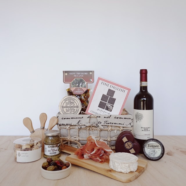 wine and cheese guru hamper - New Farm Deli