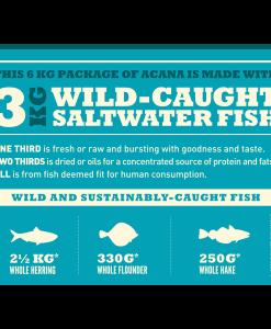 hrana caini Acana Wild Coast cu hering, platica si merluciu