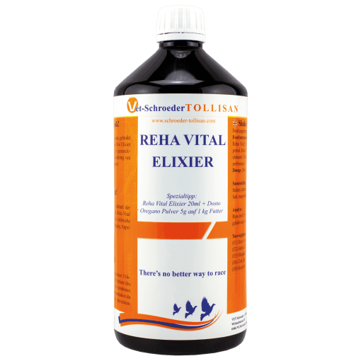 Vet-Schroeder + Tollisan Reha-Vital-Elixier 1000 ml