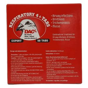 Dac Pharma Respiratory 4+ Ta