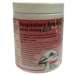 Respiratoire Rode Mix extra sterk