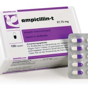 Chevita ampicillin-t capsules