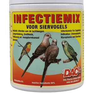 Infection mix for ornamental birds