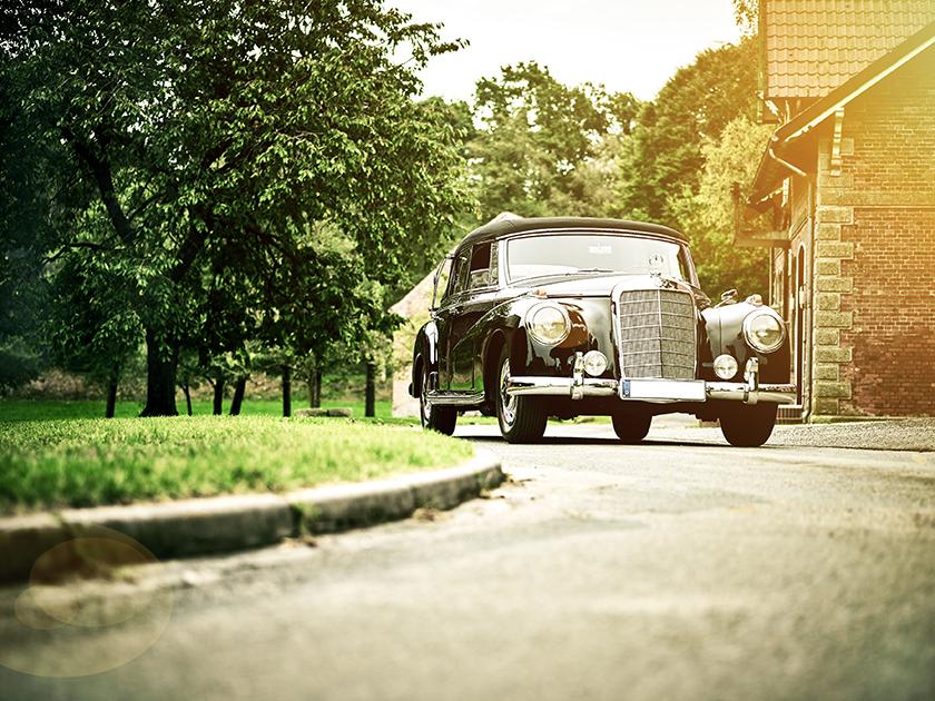 photo of Adenauer-Mercedes